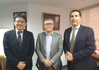 Skylane Optics signs a cooperation agreement with NEC Colombia