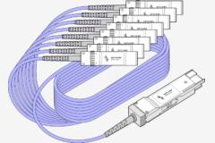 O cabo QSFP-DD a 8x SFP28 DAC/AOC consiste em 1 QSFP-DD em uma extremidade directamente ligado através de cabo de cobre/fibra a 8 vezes SFP28 na outra extremidade . Este tipo de cabo suporta taxas de dados de até 200Gbps e se encaixa em portas QSFP-DD e SFP de qualquer marca de equipamento. A Skylane Optics oferece uma gama completa de cabos QSFP-DD a 8x SFP28 com um conjunto único de serviços, tais como testes, codificação, personalização, suporte eficaz e experiência técnica.